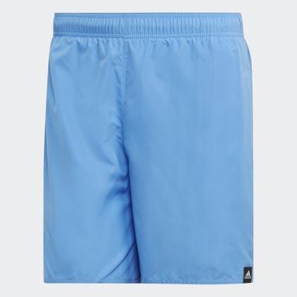 Blue Adidas Deutschland Badeshorts Real Solid Blau BeQdCErxoW
