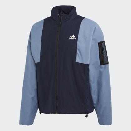 Back to Insulation Deutschland sport Adidas Jacke Legend Lined InkTech Blau lF1cKJ3T