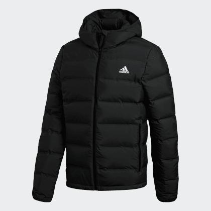 Daunenjacke Helionic Hooded Deutschland Adidas Black Schwarz oWdBQrCex
