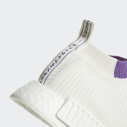 Cloud Primeknit Weiß Deutschland Adidas Active cs1 WhiteCrystal Purple Nmd Schuh oCBedx