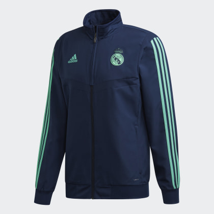 Präsentationsjacke Deutschland Night Blau IndigoHi Green Real Adidas res Madrid Ultimate kTiuwOPZX
