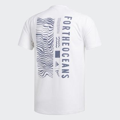 Weiß White Adidas shirt T Deutschland Parley n0wP8kO