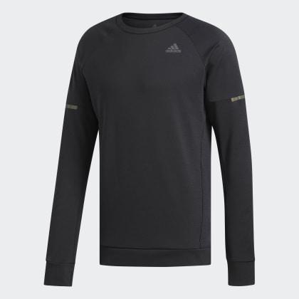 Schwarz Run Sweatshirt Supernova Cru Black Adidas Deutschland bY76gfyv