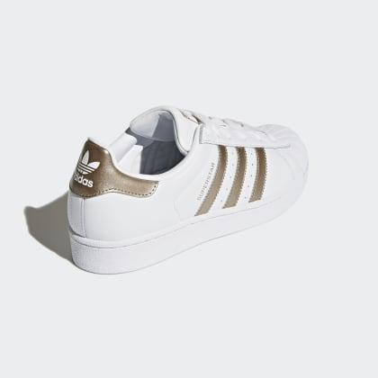 Adidas Weiß Cloud WhiteCyber Superstar Deutschland Metallic Schuh doeCBWrx