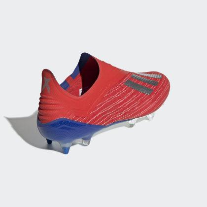 Active MetBold RedSilver Blue Adidas Deutschland 18Sg X Rot Fußballschuh MpVUzS