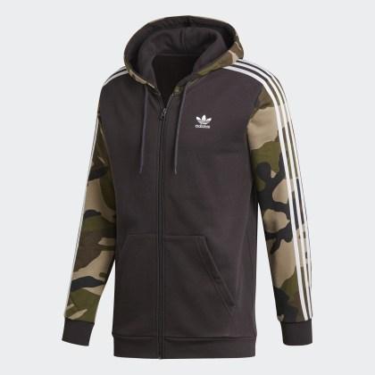 Deutschland Adidas Utility Camouflage Schwarz Black Kapuzenjacke 8n0OkNXPw