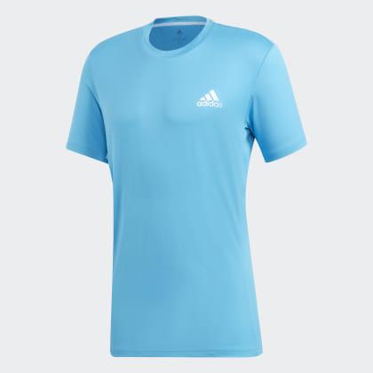 Adidas CyanWhite Deutschland Escouade Shock T shirt Blau kOPXTZiu