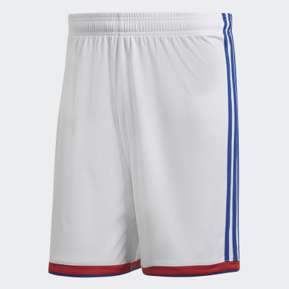 WhiteCollegiate Weiß Deutschland Adidas Red Olympique Lyon Heimshorts PZiuXk