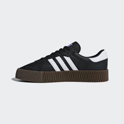 Schwarz BlackCloud Schuh Deutschland Gum5 Adidas Sambarose White Core thQdsr