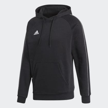 18 Hoodie Core BlackWhite Adidas Deutschland Schwarz OlZPXikuwT
