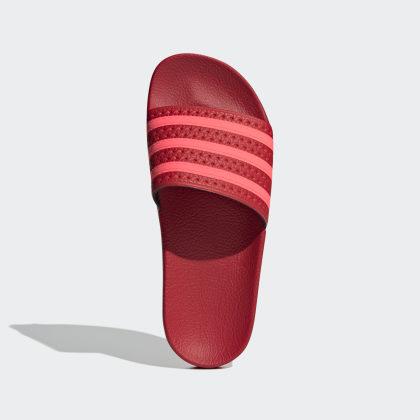 Rot Deutschland Adilette Red Adidas ScarletFlash MSpqzVLUG