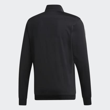 Tiro Deutschland 19 Polyester Schwarz Adidas BlackWhite Jacke 4R3L5jA