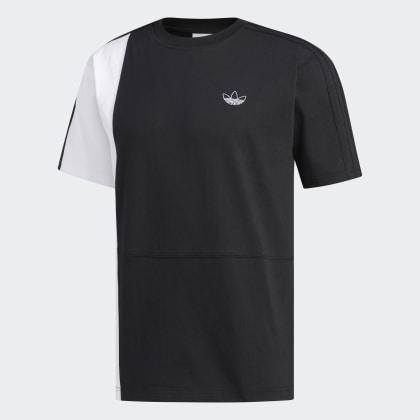 Schwarz Deutschland T BlackWhite Adidas Asymm shirt J3KTlF1c