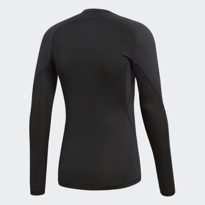 Adidas Sport Longsleeve Schwarz Black Alphaskin Deutschland OuiPkXZT
