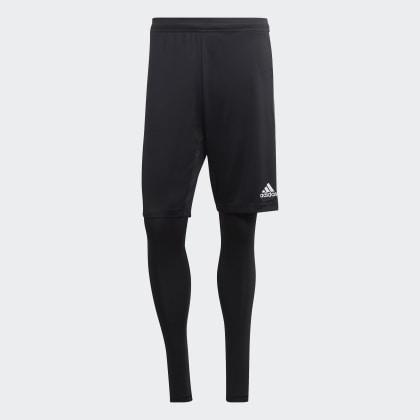 19 1 Tiro 2 Deutschland Adidas Schwarz shorts in BlackWhite v80wOyPmNn