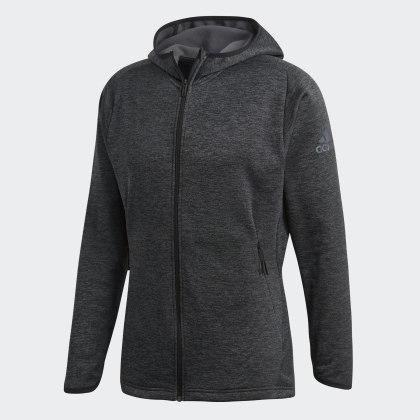 Deutschland CarbonBlack Adidas Tech Warm Kapuzenjacke Grau Freelift QxreWdBCo