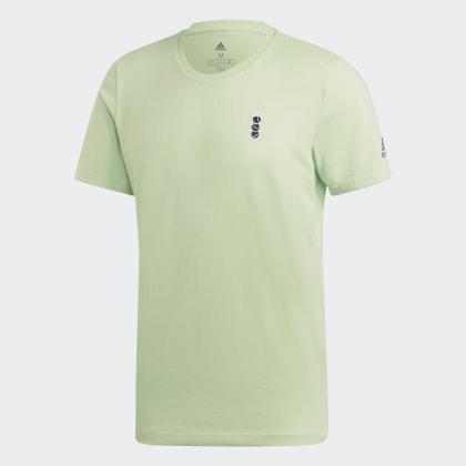 Grün Graphic Deutschland New Adidas T Glow York shirt Green Y7bfv6gyIm