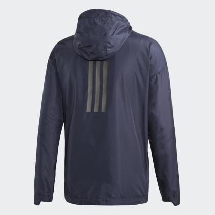 Windjacke Adidas Legend Deutschland Climastorm Urban Ink Blau j534AqRL