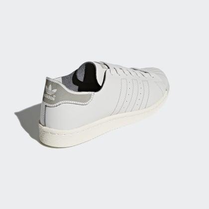 Decon 80s Grau Adidas Superstar Deutschland Schuh Grey OneOff White rtsQdChx