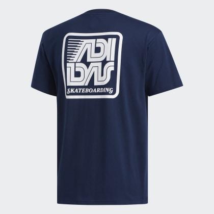 Adidas Collegiate shirt Blau Yanc Deutschland NavyWhite T cFl1KJ