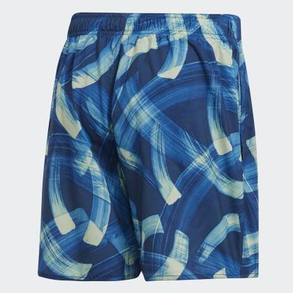 Adidas Parley Shorts Blau Deutschland Allover MarineTrue Blue Legend Print JcF1Kl