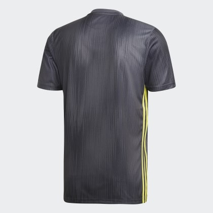 Deutschland Turin CarbonShock Yellow Adidas Grau Juventus Ausweichtrikot xtsrQdhC