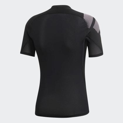 T shirt Deutschland Alphaskin Of Black Adidas Schwarz Badge Sport XwOPilkZuT