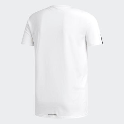 Running T WhiteBlack 3 streifen Adidas Weiß Deutschland shirt WH29EYDI