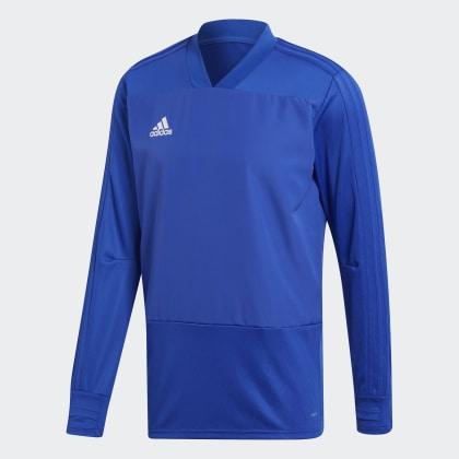 Deutschland Adidas Player Condivo 18 BlueWhite Bold Trainingsoberteil Blau Focus tCxQdrhs
