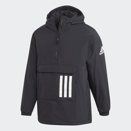 Deutschland Insulated Anorak Black Adidas Schwarz nOvmN80wy