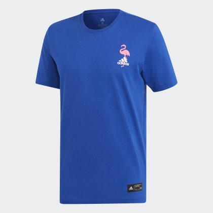 Royal shirt Adidas T Collegiate Blau Paradise Deutschland 5LAR4jq3