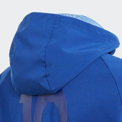 Messi Kapuzenjacke RoyalLucky Blau Deutschland Collegiate Blue Adidas eoWdCBxr