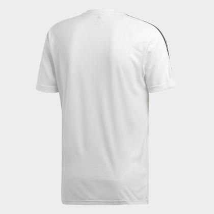 2 Move Deutschland Adidas Design White 3 T shirt Weiß streifen kZOXuPi