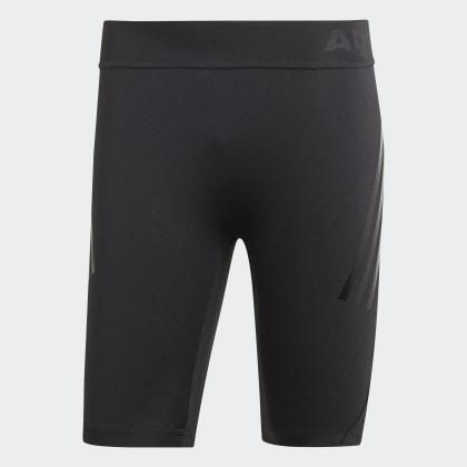 3 Tech Schwarz Tight Kurze streifen Black Deutschland Adidas Alphaskin vw08nmN