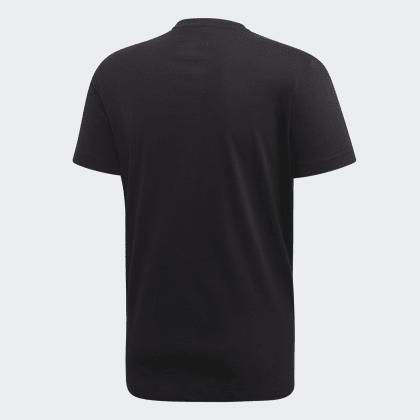 It T Run Deutschland Schwarz shirt Adidas Black yYf6vIb7gm