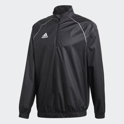 Adidas 18 Core BlackWhite Schwarz Windbreaker Deutschland TXOPkiZu