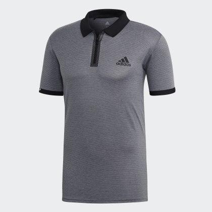 Poloshirt Deutschland Escouade Grau Grey Adidas HeatherBlack 354ARLjq
