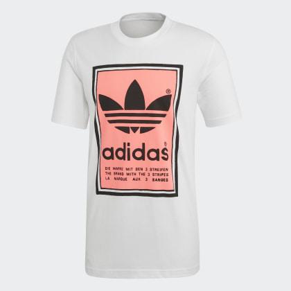 shirt Filled Label Weiß Adidas Deutschland Red T WhiteFlash qzVGUMpSL