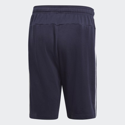 Adidas Essentials Ink Terry Deutschland streifen 3 Legend French Blau Shorts P80XOnwk