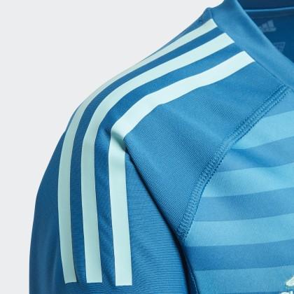 Deutschland AquaUnity Blau Adidas Real Torwart Bold auswärtstrikot Blue Madrid mnwOv08N