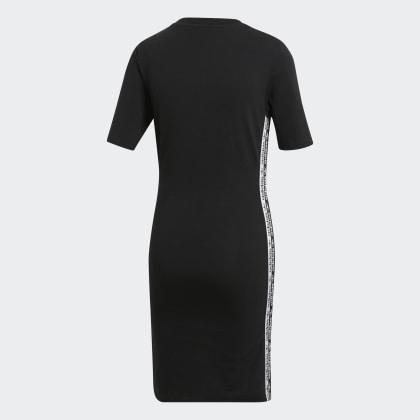 Kleid Deutschland Tape Black Schwarz Adidas rxoWeBdC