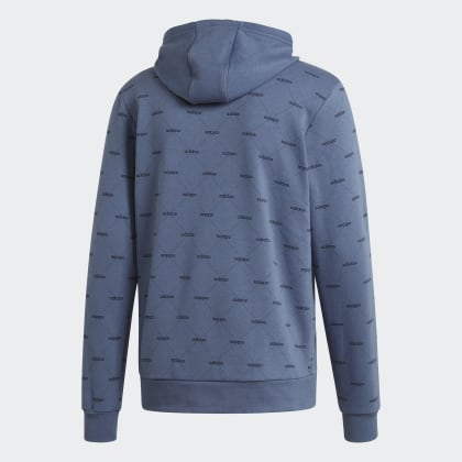 Graphic Adidas Tech Hoodie Deutschland InkLegend Blau Linear PXiuZk