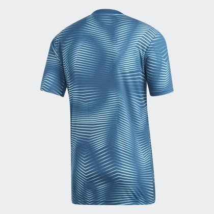 Pre NightLight Shirt Aqua Home match Adidas Deutschland Blue Blau Argentinien xWrCEedBQo