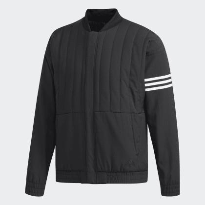 Schwarz Deutschland Adidas Quilted Jacke Black nPkNw80ZOX