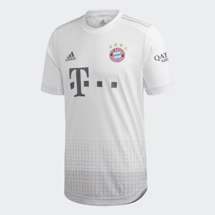 München Fc Authentic Bayern Deutschland Auswärtstrikot Adidas White Weiß UMSpzV