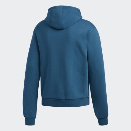 Adidas Tech Art Deutschland Manoles Blau Hoodie MineralBlack 8Oknw0PX