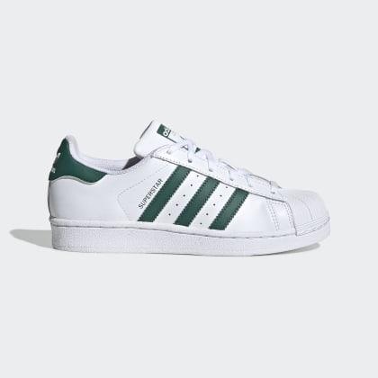 WhiteCollegiate Adidas Superstar Green Deutschland Cloud Schuh Weiß c1lFKJ