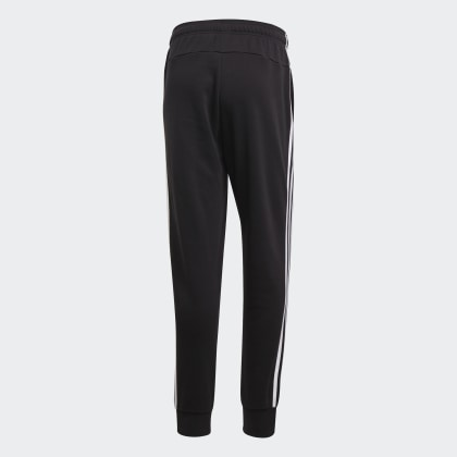 BlackWhite Deutschland streifen Essentials Tapered 3 Cuffed Adidas Hose Schwarz NO0PwknXZ8