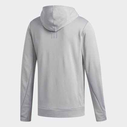 Mgh Grey Grau Adidas Deutschland The Own Run Solid Hoodie kXPZui