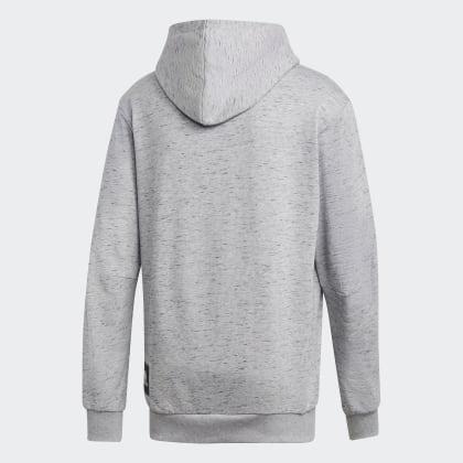 Grau Grey Id Deutschland Heavy Adidas Heather Hoodie Medium Terry yNPm8v0nwO
